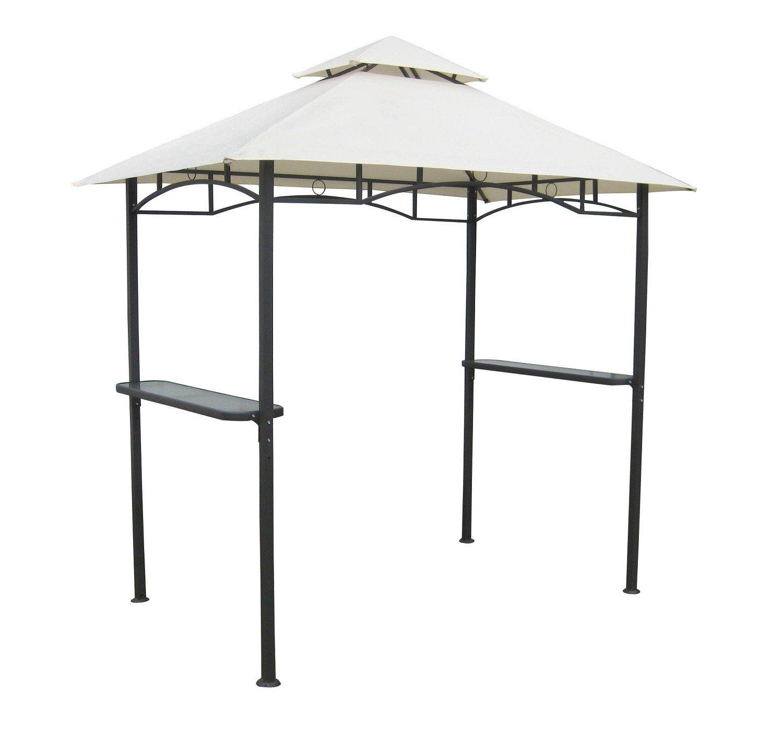 Grillpavillon 2,5×1,5m mit Doppeldach Pavillon Grill Pavillon jetzt kaufen