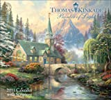 Thomas Kinkade Painter of Light with Scripture: 2011 Wall Calendar