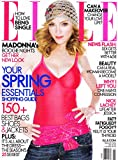img - for Madonna, The New Goth, Andy Samberg, Michelle Kwan - Elle Magazine book / textbook / text book