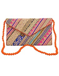 Rajasthani Handicrafted Multi Color Embroided Stylish Bag Christmas And New Year Sale