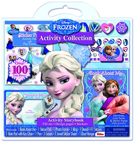 Bendon 67010 Disney Frozen Activity Playset (100-Piece)