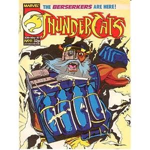 Thundercats Comic Book on Thundercats  11  May 1987  Uk   Marvel Comics  Amazon Com  Books