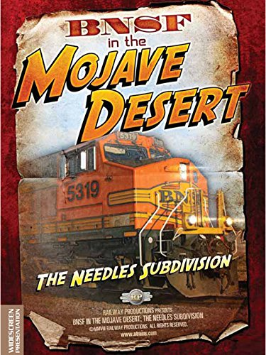 BNSF in the Mojave Desert on Amazon Prime Video UK