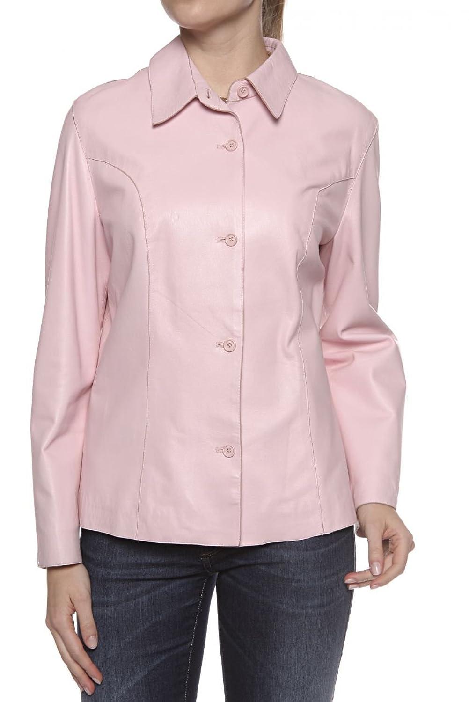 Cristiano di Thiene Basic Line Damen Jacke Lederjacke NAPPA SP, Farbe: Rosa online bestellen