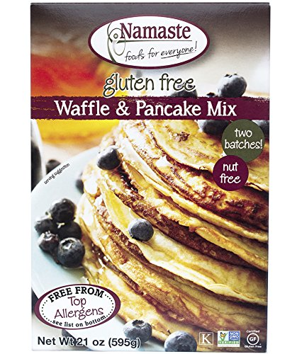 Namaste Foods, Gluten Free Waffle & Pancake Mix,  21-Ounce Bags (Pack of 6) (Wheat Free Market Baking Mix compare prices)
