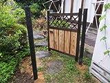 【国産天然】庭木戸355幅750X高さ900【職人手作り】竹製庭扉