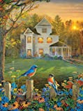 On the Fence 1000 pc Jigsaw Puzzle