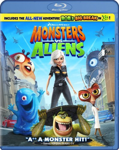 Cover art for  Monsters vs. Aliens [Blu-ray]