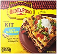 Old El Paso Soft Taco Bake Dinner Kit…