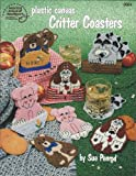 img - for Plastic canvas critter coasters book / textbook / text book