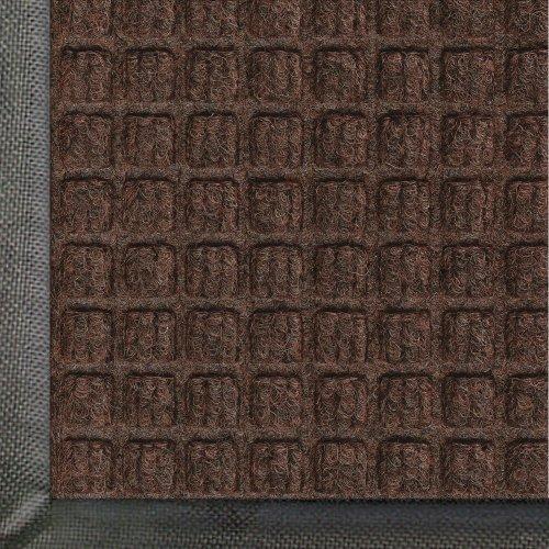 Andersen 200 Dark Brown Polypropylene Waterhog Classic Entrance Mat, 3' Length X 2' Width, For Indoor/Outdoor front-504192