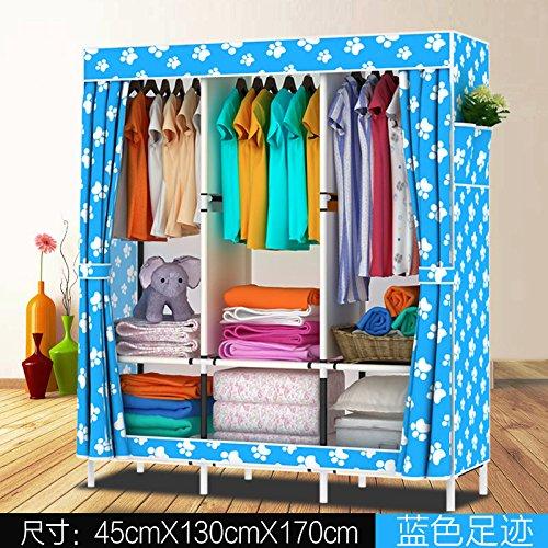 Vêtements Portable Penderie Armoire de stockage non-tissé en??2665 un organisateur