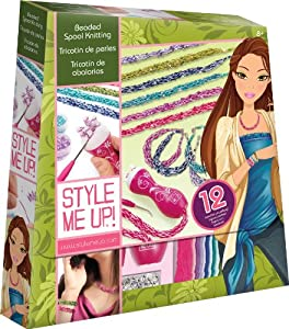 Style Me Up Beaded Spool Knitting Toys Games