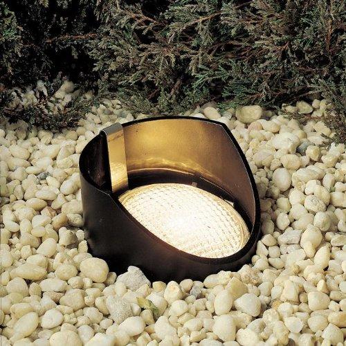 Kichler Lighting 15088Bk12 12-Volt Low Voltage Yoke Held Par 36 Well Light, Black, 12-Pack front-910560