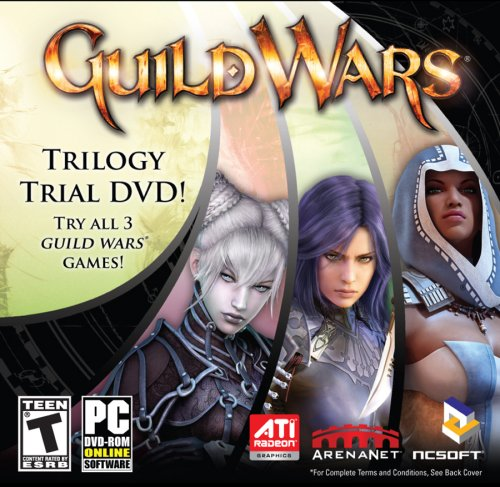 GUILD WARS TRILOGY TRIAL CD (WIN 98,ME,2000,XP,VISTA) Picture