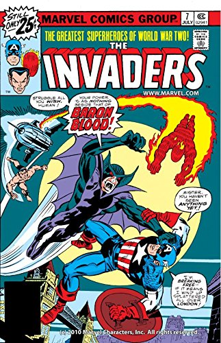 Invaders (1975-1979) #7 (The Invaders Marvel compare prices)