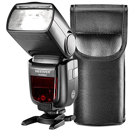 Neewer-24G-Wireless-18000-HSS-TTL-LCD-Display-Master-Slave-Flash-Speedlite-for-Sony-A77II-A7RII-A7R-A58-A99-A6000-Camera-with-New-Mi-Hot-Shoe-NW880Sreplacement-for-Godox-TT685S