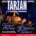 The Tarzan Duology of Edgar Rice Burroughs: Tarzan of the Apes and The Return of Tarzan: A Pulp-Lit Annotated Edition Audiobook by Edgar Rice Burroughs, Finn J.D. John Narrated by Finn J.D. John