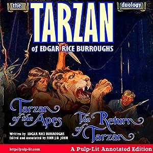 The Tarzan Duology of Edgar Rice Burroughs Audiobook