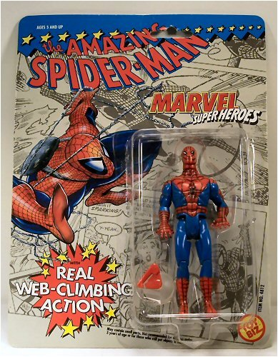 The Amazing Spider-Man Action Figure with Real Web-Climbing