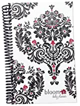 2014-15 Academic Year bloom Daily Day Planner Fashion Organizer Agenda August 2014 Through July 2015 Damask