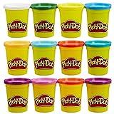 Play-Doh - B6751eu40 - Pack de 6 pots de Pâte avec 6 pots