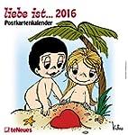 liebe ist 2016 - Postkartenkalender/W...