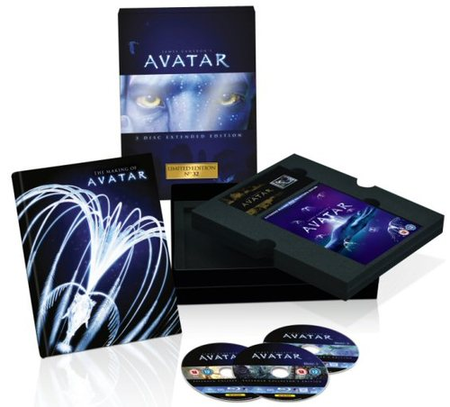 Avatar Collectors Edition Blu Ray
