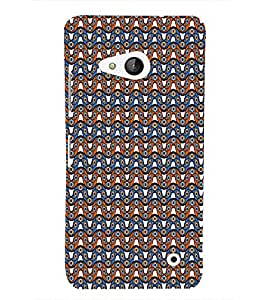 Abstract Wave Pattern Cute Fashion 3D Hard Polycarbonate Designer Back Case Cover for Microsoft Lumia 550