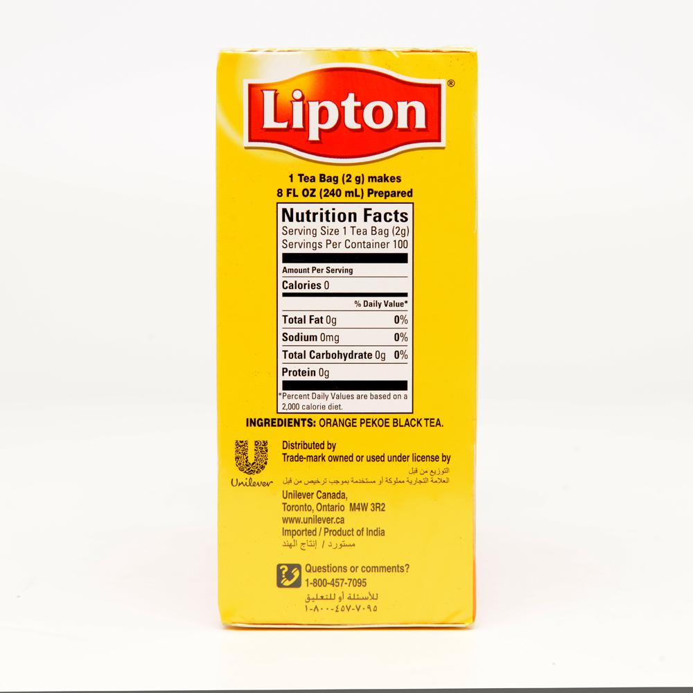 tea and lipton yellow label Green tea from lipton is simple and pure green tea is available in variety pack of 5 flavors at best market prices such as 100% natural green tea, green tea mint burst, lemon zest, tulsi.