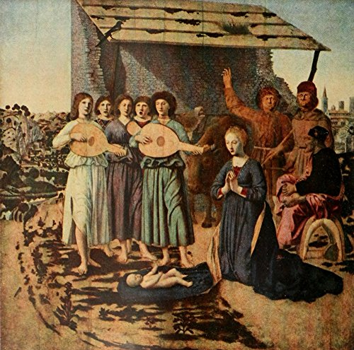 National Gallery 1912 Nativity Poster Print by Piero Della Francesco (18 x 24)
