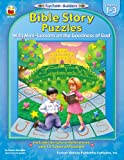 img - for Bible Story Puzzles, Grades 1 - 3: With Mini-Lessons on the Goodness of God (Fun Faith-Builders) book / textbook / text book