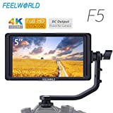 FEELWORLD F5 5 PULGADAS 4K HDMI FULL HD 1920X1080 MONITOR DE VIDEO EN LA CÁMARA PARA DSLR SG