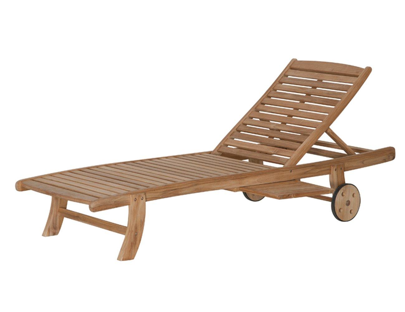 siena garden 672888 rollliege newport teak mit ablage l 197 x b 71 x h 91 cm kaufen. Black Bedroom Furniture Sets. Home Design Ideas