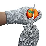 Xcellen Global Schneidresistente Handschuhe Nahrungsmittel Küche Level 5 Schutz beim