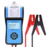 Battery Tester TOPDON AB201 Battery Analyzer 12V/24V 100-2000 CCA with Cranking/Charging/Battery Tests, Data Printing/Export/Review Functions for DIYers and Garages Battery Load Tester –Black and Blue (Tamaño: AB 201)