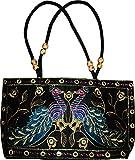 Czds India Women's Black Handbag (BAG-31)