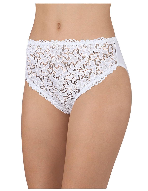 Barbara Cecilia hoch geschnittene Unterhose in Weiß 70608-BL-001 jetzt kaufen