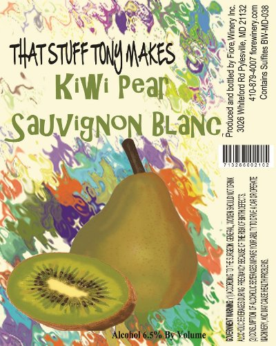 Nv That Stuff Tony Makes Kiwi Pear Sauvignon Blanc 750 Ml