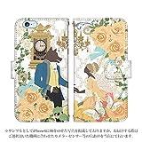 iPhone6S ケース 手帳型 [デザイン:13.美女と野獣] 童話 プリンセス 全16柄 iphone 6s アイフォン6s ブランド かわいい おしゃれ スマートフォン カバー