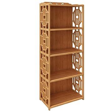FEIFEI Bookshelf Floorstanding Modern Minimalist Multi-layer Multifunction Size Scelta multipla ( dimensioni : 134*29*62cm )