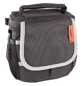 Fototasche Bodyguard System S extra für Nikon 1 J1, J2, J3 und S1 wahlweise mit UV- Filter passend für 40.5mm 52mm 55mm Filtergewinde Nikkor Objektive (ohne UV- Filter)