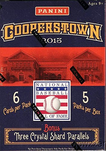 2013-panini-cooperstown-baseball-factory-sealed-retail-box-with-5-packs-and-3-crystal-parallel-cards