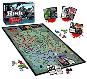 The Walking Dead Risk Comic Edition Board Game from USAopoly