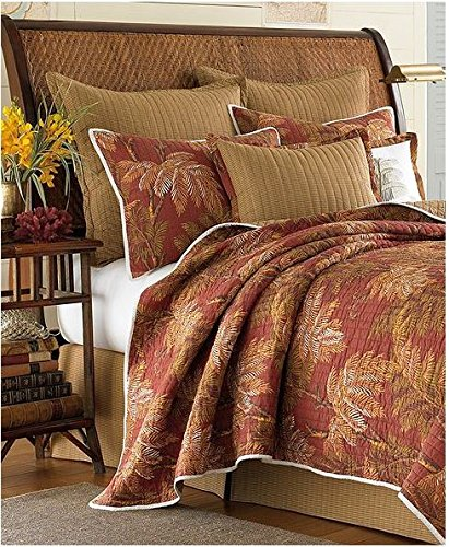 Tommy Bahama Home Orange Cay Q Bamboo front-1062398
