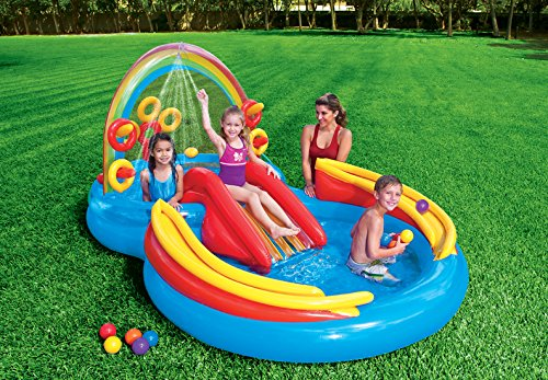 Intex Rainbow Ring Inflatable Play Center,