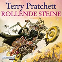 Rollende Steine: Ein Scheibenwelt-Roman Hörbuch von Terry Pratchett Gesprochen von: Michael-Che Koch