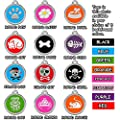 Dog Tags Pet Tags Cat Tags | Designers Round| by CNATTAGS® (LIFE TIME WARRANTY)