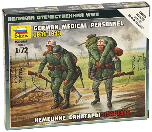 Zvezda Models German Medical Unit Building Kit (1941-43), Scale 1/72