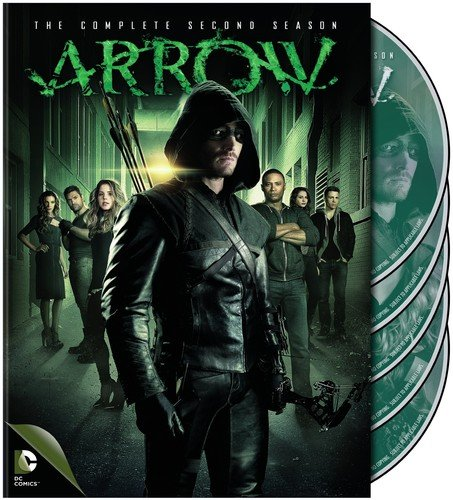 DVD : Arrow: The Complete Second Season (DC) (Boxed Set, Slipsleeve Packaging, 5 Disc)